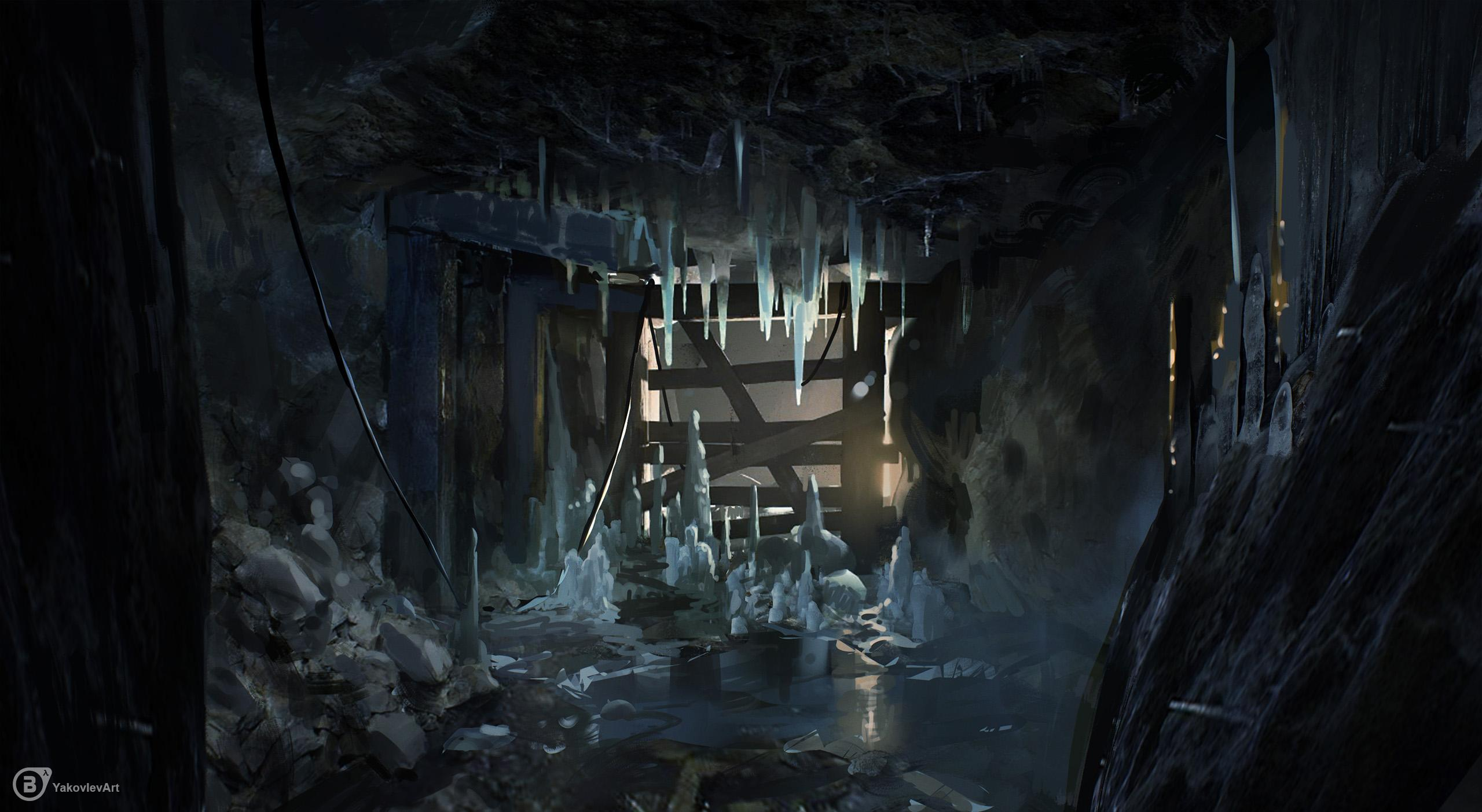 Ice Cave paintover